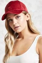 Forever 21 Velvet Baseball Cap
