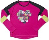 Puma Girls 7-16 Colorblock Graphic Tee