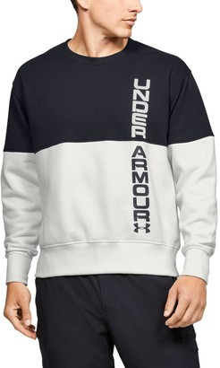 Under Armour Men's UA Sportstyle Pique Fleece Crew