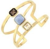 Cole Haan Swarovski Golden Shadow Crystal Cuff Bracelet