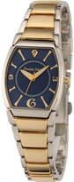 JCPenney FINE JEWELRY Personalized Dial Womens Diamond-Accent Two-Tone Bracelet Watch