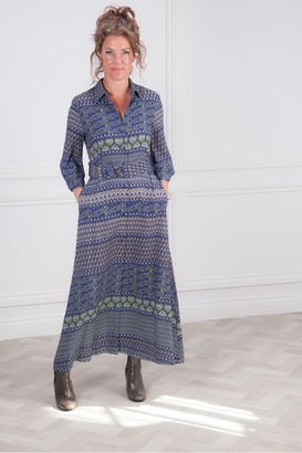 Riani Indac Pattern Print Dress - 8