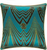 Roberto Cavalli Deco Silk Cushion