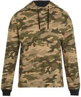 Balmain Hooded Camouflage-print Cotton Sweatshirt