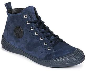 Pataugas Rocker N women's Shoes (High-top Trainers) in Blue