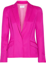 Thierry Mugler Stretch-wool Twill Blazer - Magenta