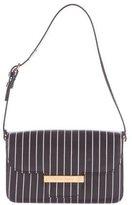 Dolce & Gabbana Striped Leather Shoulder Bag
