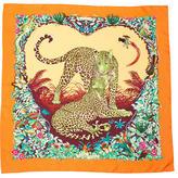 Hermes Jungle Love Silk Scarf
