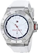 Tommy Hilfiger Men's 1791036 Rubber Analog Quartz Watch