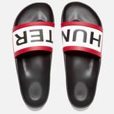 Hunter Original Slide Sandals Black