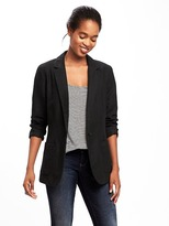 Old Navy Classic Long-Line Blazer for Women