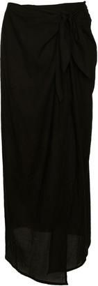 Anemos Ramie Wrap Maxi Skirt