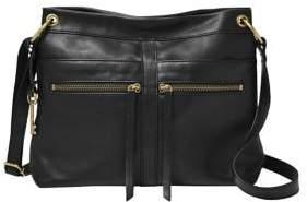 Fossil Caitlyn Leather Crossbody Bag