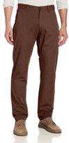 Haggar Men's LK Life Khaki Lightweight Slim Fit Flat Front Chino Pant