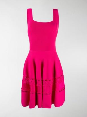 Alexander McQueen Crochet-Knit Dress