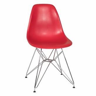 Joseph Allen Ethan Side Chair Seat Finish: Red