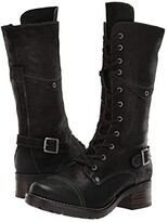 Taos Footwear Tall Crave (Black Rugged) Women's Shoes