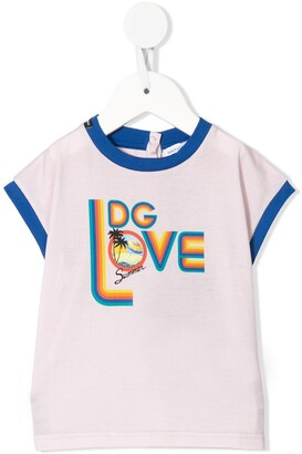 Dolce & Gabbana Kids DG love T-shirt