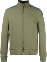 MSGM zipped sports jacket - men - Polyamide/Acetate/Triacetate - 46