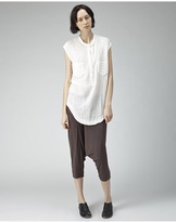 Raquel Allegra / jersey cropped pant