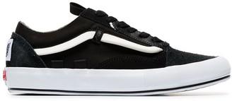 Vans Black Old Skool Rework suede low-top sneakers