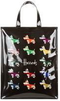 Harrods Medium Union Jack Westie Shopper Bag
