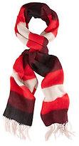 Rag & Bone Brushed Blanket Striped Scarf