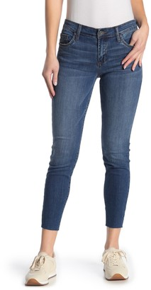 KUT from the Kloth Donna Raw Hem Ankle Skinny Jeans (Regular & Plus Size)