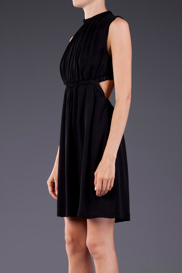 Christopher Kane Backless Georgette Dress