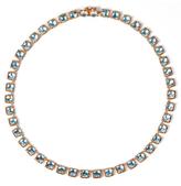 Larkspur & Hawk Bella Mini Riviere Necklace - Aqua