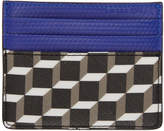 Pierre Hardy Black and Blue Cube Card Holder