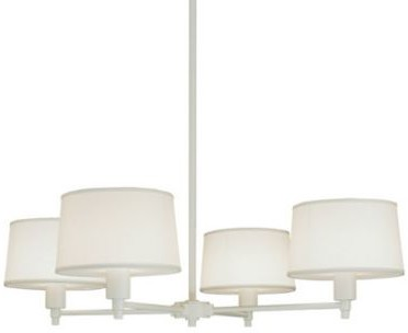 Robert Abbey Real Simple 4 Light Chandelier Shopstyle