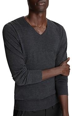 John Varvatos Arlington Melange Sweater