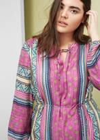 Violeta BY MANGO Flowy printed dress