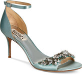 Badgley Mischka Bankston Ankle-Strap Evening Sandals