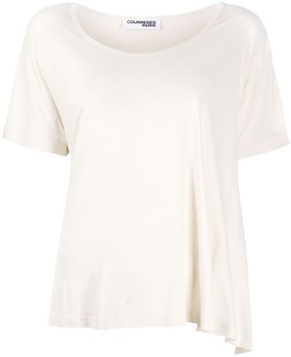 Courreges flared style T-shirt