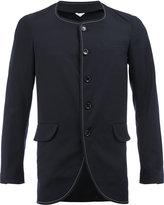 Comme des Garcons curved hem fitted blazer - men - Wool - M