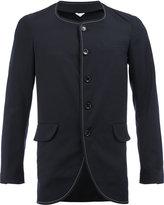 Comme des Garcons curved hem fitted blazer - men - Wool - S