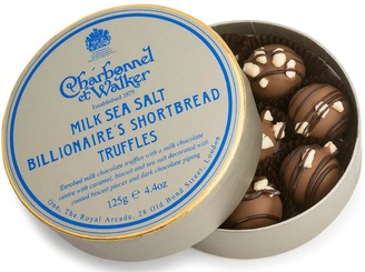 Charbonnel et Walker Sea Salt Billionaire'S Shortbread Truffles 125G