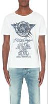 Diesel Flying cougar print t-shirt
