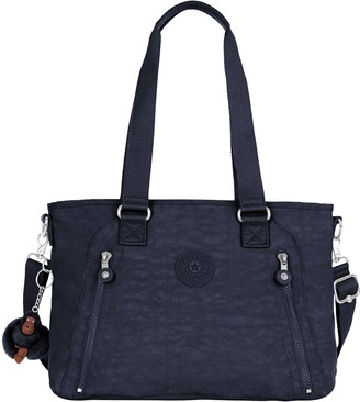 Kipling Angela True Blue Tonal Handbag