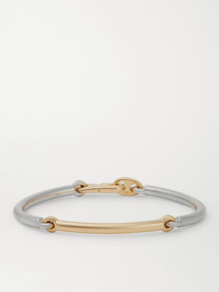 Maor The Solstice 18-Karat White And Yellow Gold Bracelet
