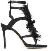 DSQUARED2 'Victorian' open panel sandals