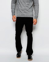 Asos Skinny Bootcut Pants In Moleskin Look