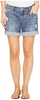 Jag Jeans Alex Boyfriend Laser Printed Mission Denim Shorts in Cliff Wash Women's Shorts