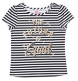 Epic Threads Little Girls Graphic with Text Tee