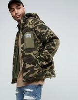 Billionaire Boys Club Hooded Windbreaker Jacket In Camo