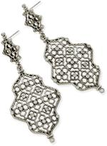 Kendra Scott Filligree Silver Earring