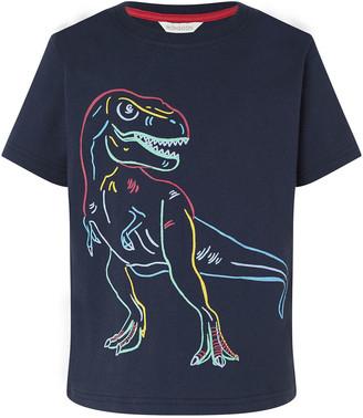 Monsoon Dinosaur T-Shirt Blue