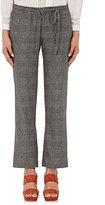 Masscob Women's Prince Of Wales Crop Pants-GREY